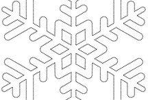 snehove vlocky