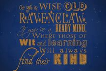 Ravenclaw <3 / by Amber Gravley