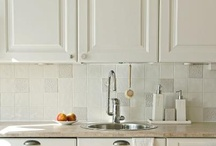 Terraviiva Kitchens and Bathrooms / Hand made Terraviiva tiles used in kitchens and bathrooms