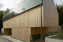 wood facades