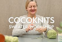"Cocoknits Sweater Workshop / An introduction to our book: Cocoknits Sweater Workshop. Introducing the ""Cocoknits Method"" and all of the patterns included in the book . #cocoknitsmethod"