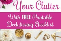 Decluttering / All about decluttering and organizing your stuff.