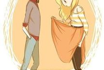 Fiolee / Fionna and Marshall lee