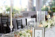 Table Numbers / by JDWC Weddings