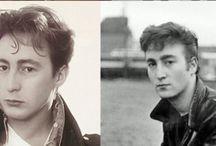 Beautiful Dad John Lennon/Beautiful son Julian Lennon