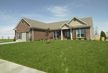 Mulberry A - Floor Plan / Jagoe Homes, Inc. Project: Paradise Garden Estates, Mulberry. Elevation: A, Evansville, IN. Lot 3.