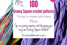 100 Granny Square Crochet patterns