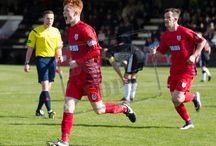 Elgin City 16 April 16 / Pictures from the SPFL League Two game against Elgin City.  Match played at Borough Briggs on Saturday 16th April 2016.  The score was 1-1.