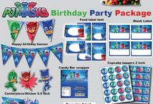 4th birthday pj masks