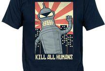 Camisetas Futurama / by Fanisetas.Com