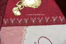 Joyful Embellishments - February - Herringbone / by Jennifer Wright
