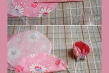 Fabric Flowers / by Kwan's Quilt