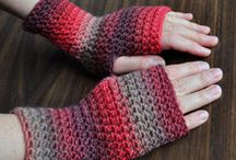 Crochet Fingerless Gloves Patterns / We love fingerless gloves, they keep your hands nice and cozy and are so stylish! Plus, you can still use your phone with them on! Explore our huge selection of patterns available to download at LoveCrochet and make your own!