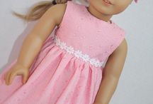"SEWING - 18"" DOLL CLOTHES INSPIRATION / by Linda's Annex"