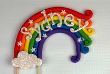 arcobaleno topper
