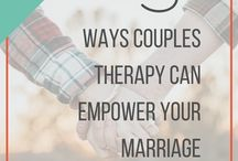 Counseling + Therapy / It's OK to get help, especially when you're willing to fight for your marriage! Here is information and experiences for the couple or individual wanting to seek professional guidance.