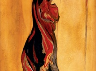Dancers in the Wine / Paintings exploring the passion of wine and dance.