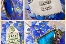 Handmade Gemstone Jewellery / Handmade silver creations with gemstones