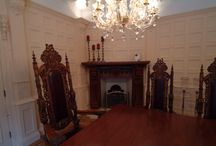 Dining Room Panelling  in a Famous Hall In Cheshire..