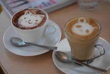 Latte art / De délicieux latte art qui donnent le smile !