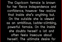 Capricorn / Know me better