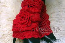 Crochet Leg warmers, boot cuffs
