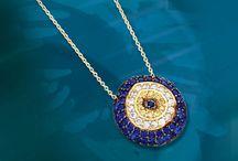 14K Gold Evil Eye Necklace