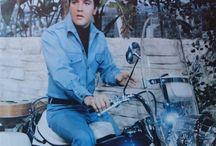 Elvis en moto