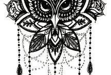 Tattoo Inspiration/Owl