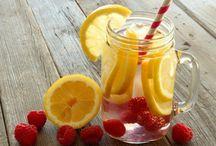 Water diet drinks