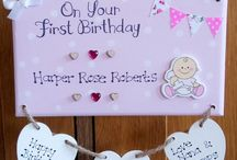 Baby's 1st Birthday Gifts - Personalised to Order