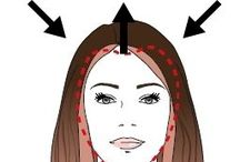 Contorno cara, Canas, Peinados / información pelos canosos