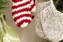 Little knitting Ornaments