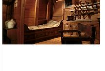 Christopher Columbus inspired bedroom / Ideas for a bedroom that takes it's inspiration from old maps and ships