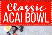 Acai bowls & smoothies