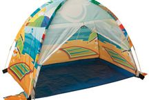 Play Tents / Brave the great outdoors, or just the backyard, with these great tents from eBeanstalk!