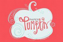CLOcards ~ Paper Pumpkin
