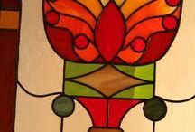 Atelier Vitrum FP / Voici mon travail d'artisan verrier.