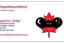 Business Card Ideas / for MapleMouseMama