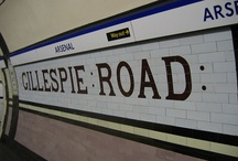 Arsenal / Pictures of sights in and around Arsenal tube station on the Piccadilly line in London, UK. / by Randomly London