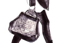 Handbag water colour