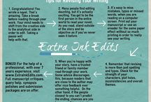 Extra Ink Edits / Built on over eight years of helping others with their writing, Extra Ink Edits provides critiques for queries, synopses and full manuscripts. I'd be honored to read your writing! www.ExtraInkEdits.com