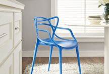 Stackable Chairs-100$ and Under..... / Stacking chairs are underrated. They can be more than the homely church hall chair. They can take center stage in your home or patio AND they can be the occasional hero when you have a house full....these are not your Mama's chairs nor do they need to be closeted....