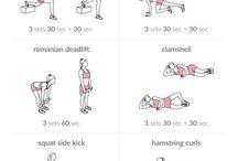 Ασκήσεις γυμναστικής για τους γλουτούς