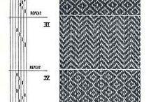 Tkanie - vzory