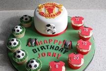 Sam soccer cakes