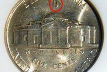 Bills, Coins, & Stamps