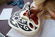 DIY Customisation de guitare