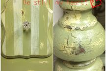 Painted to Perfection / Painted shabby chic style furniture