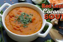 Vegan Soups / Vegan Soups
